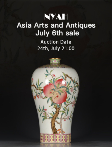 Asia Arts and Antiques July 6th sale