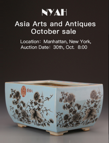 Asia Arts and Antiques October sale