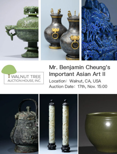 Mr. Benjamin Cheung's Important Asian Art