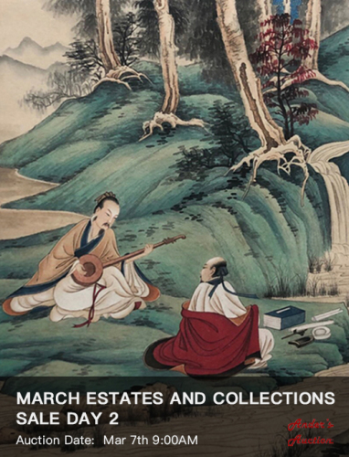 MARCH ESTATES AND COLLECTIONS SALE DAY 2