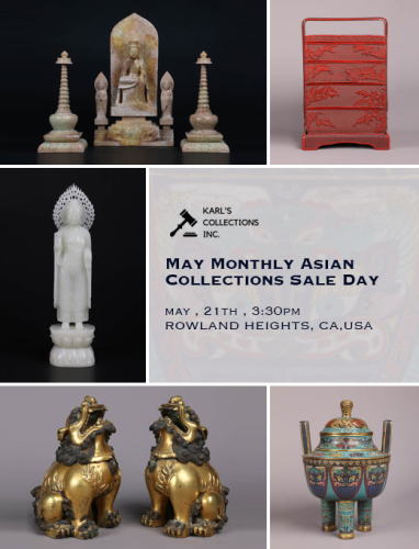 May Monthly Asian Collections Sale Day 1