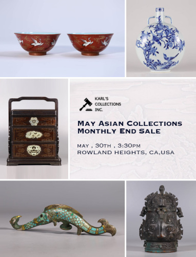 May Asian Collections Monthly End Sale