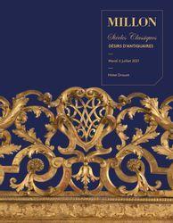 Désirs d'antiquaires mobilier & objets d'art hôtel Drouot, Paris