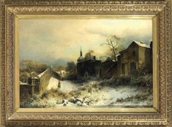 西方19-20世纪经典油画